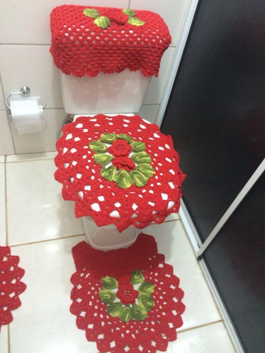 Jogo De Banheiro De Croche 80 Modelos Dicas Para Inspirar Voce Jogos De Banheiro Jogos De Banheiro Croche Jogos De Croche