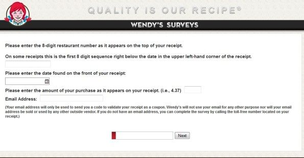 Talk To WendyS Customer Satisfaction Survey  WwwTalktowendys