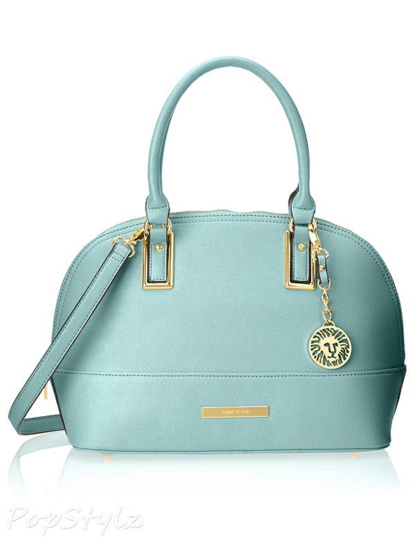 0636ef06ec8e Anne Klein Shimmer Down Satchel Handbag