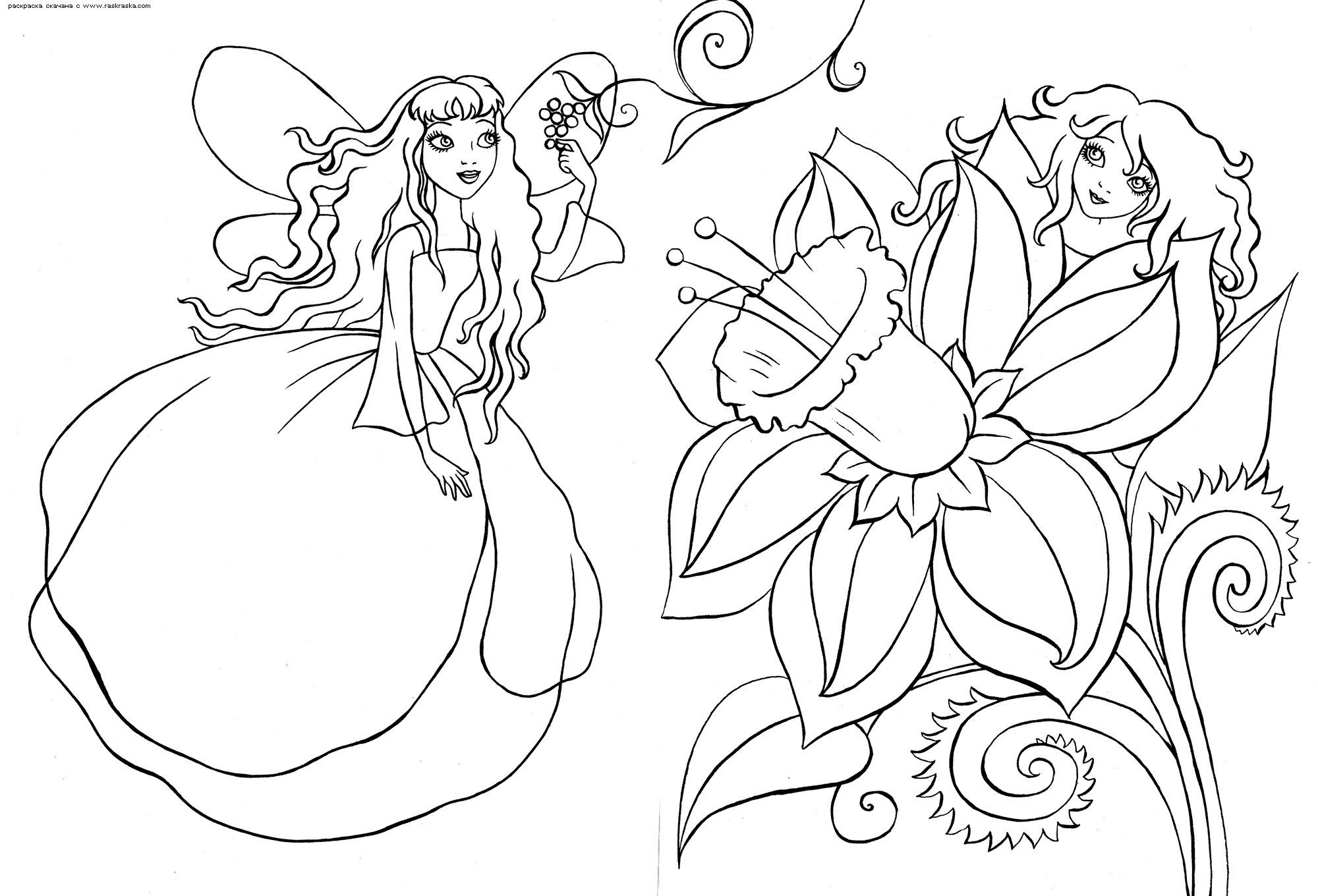 Coloring for girls. Print coloring pages for girls free & raquo ...
