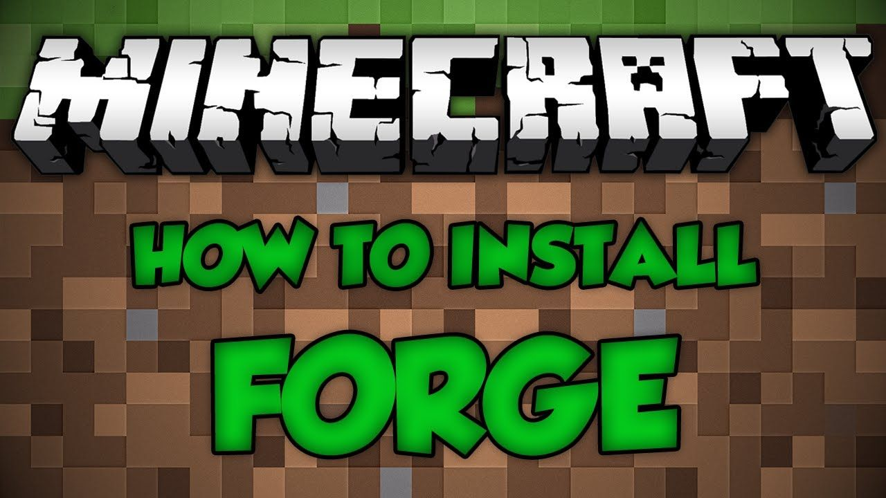 ... forge (recommended is the best) and click the