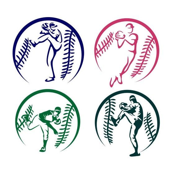 Baseball Players Cuttable Design Png Dxf Svg Eps File For Etsy In 2020 Baseball Cricut Baseball Tattoos Baseball Players