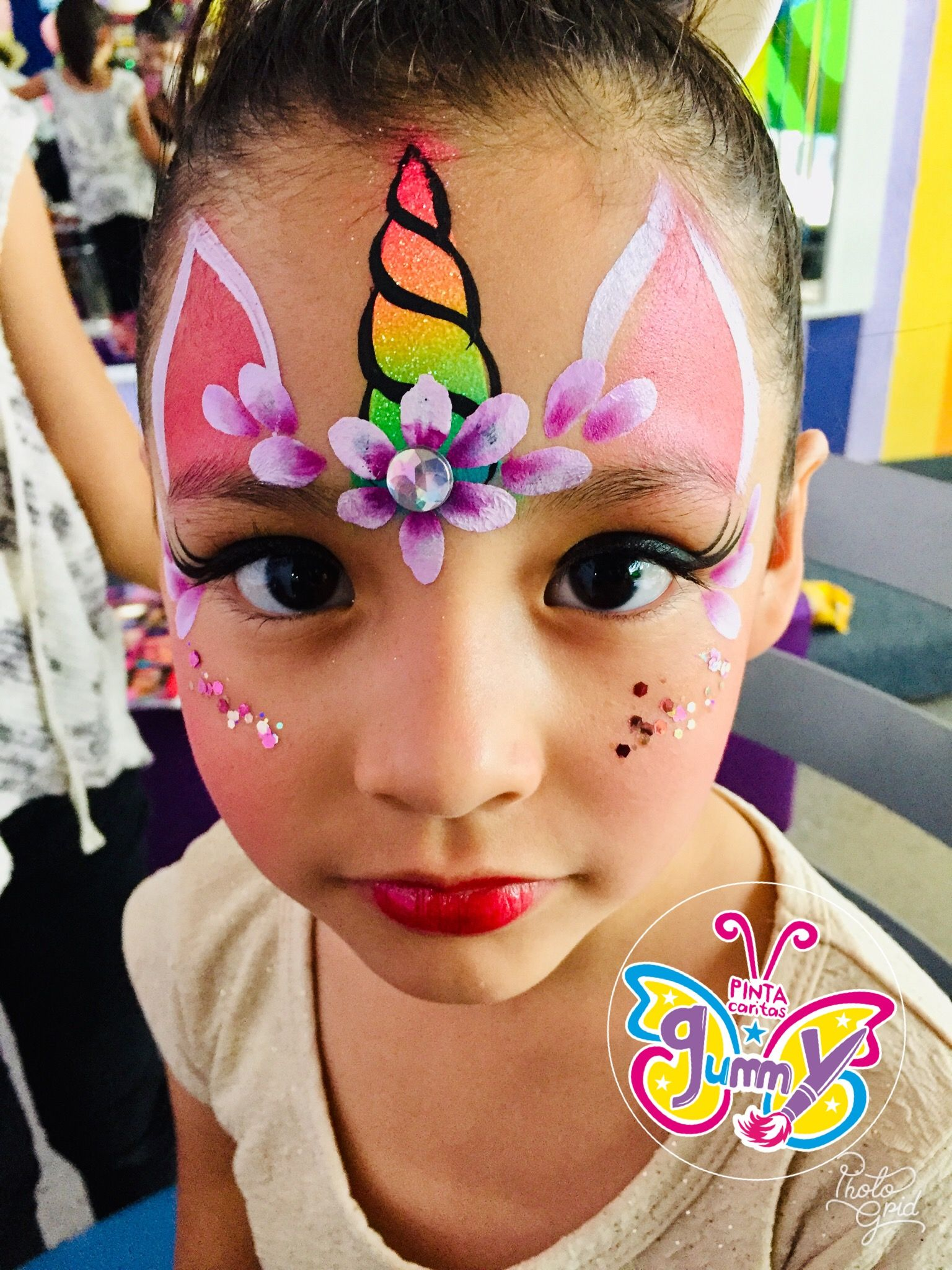 Pin By Audrey Gareau On Face Painting Face Painting Unicorn Face Painting Easy Kitty Face Paint