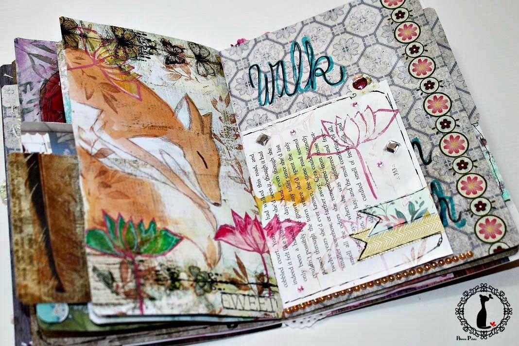 Vintage Artjournal Basajaun for Rosemary Van Deuren