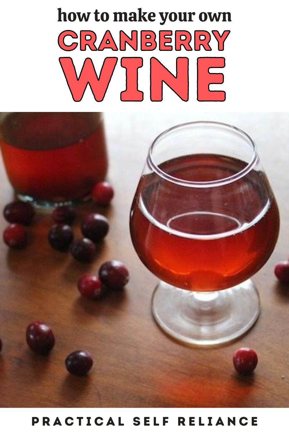 Homemade Cranberry Wine Recipe In 2020 Cranberry Wine Homemade Wine Recipes Homemade Wine