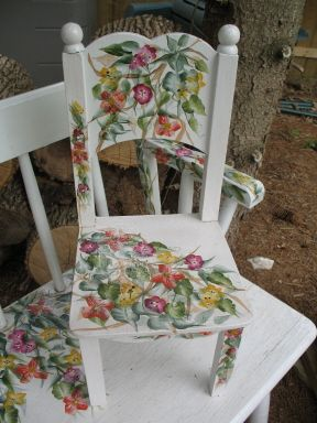 decorative woodcraft tole painting pattern packets by