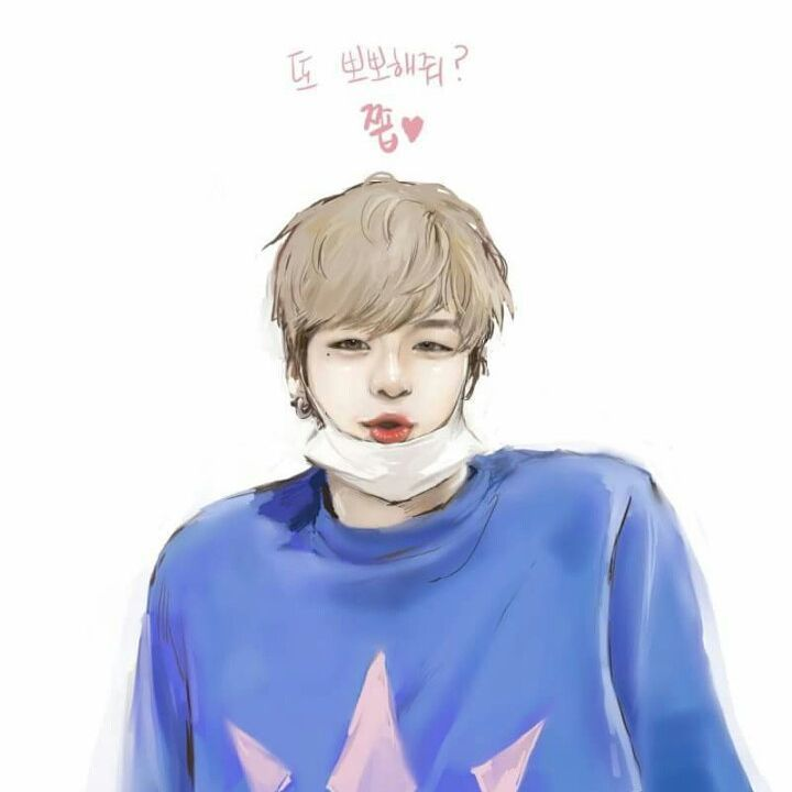 I love this fanart of Kang Daniel (Produce 101) ! #kangdaniel
