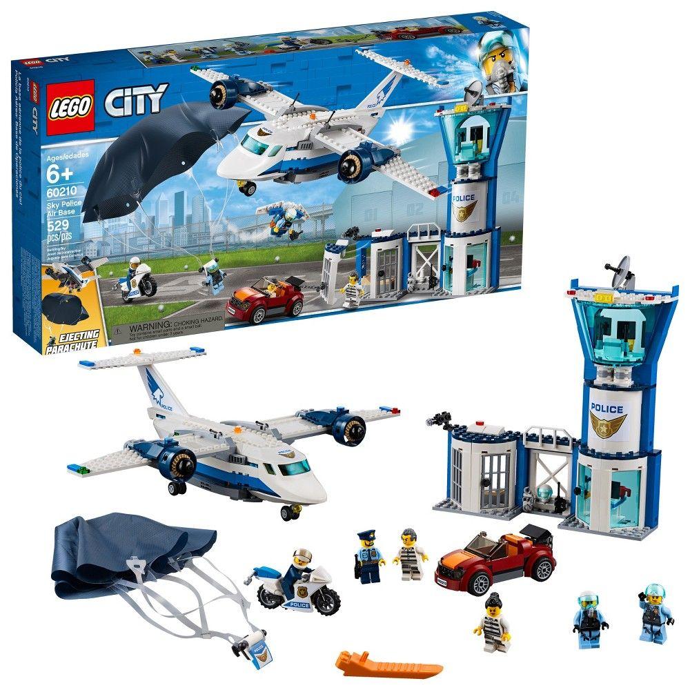 Lego City Sky Police Air Base 60210 Lego City Lego City Police