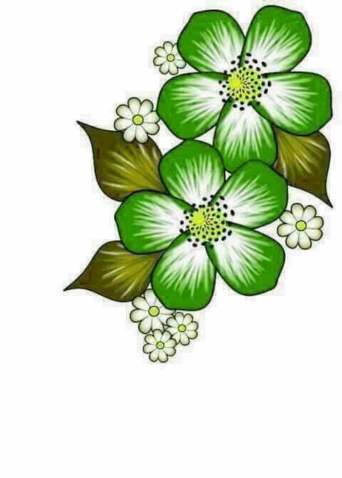 Pin de Iveta Nádašdyova en Všeličo | Pinterest | Flores verdes, Flor ...