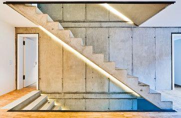 Neubau Haus am Hang - modern - Treppenhaus - Other Metro - HELWIG HAUS + RAUM Planungs GmbH