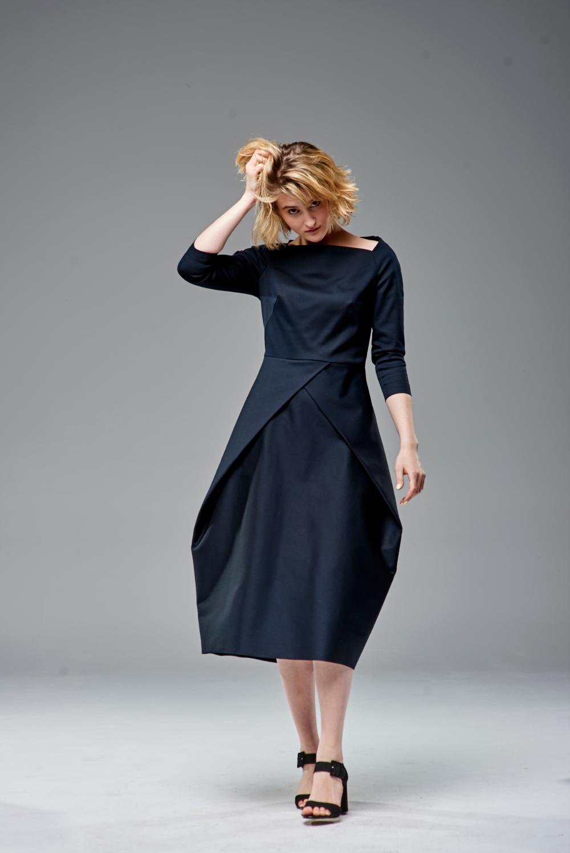 michalina_060520191474 | Dresses, Neck dress, High neck dress