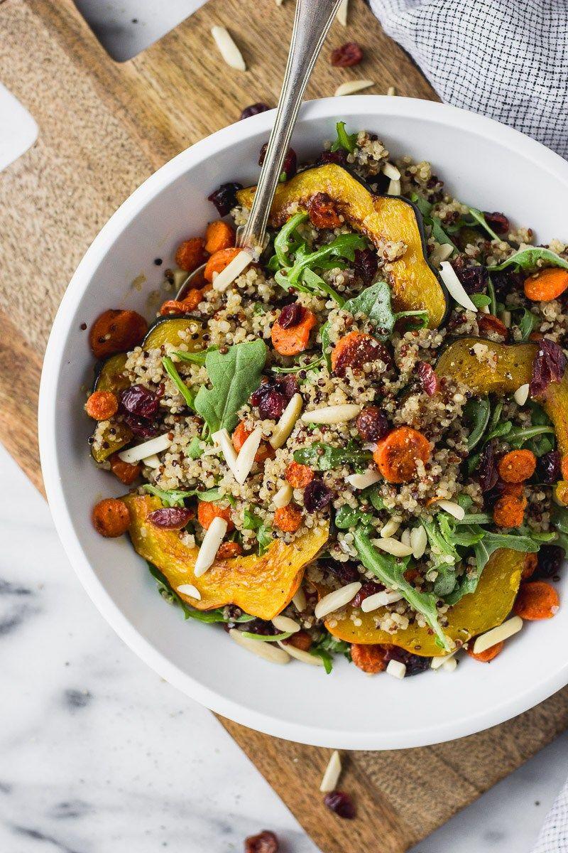 Autumn Acorn Squash Salad