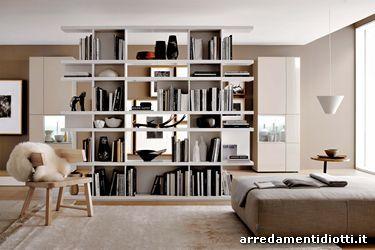 Arredamento Libreria ~ Libreria componibile charlotte diotti a&f arredamenti new home