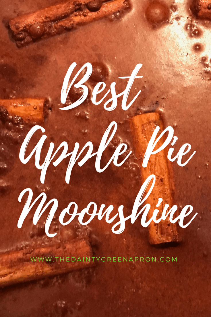 Best Apple Pie Moonshine #applepie