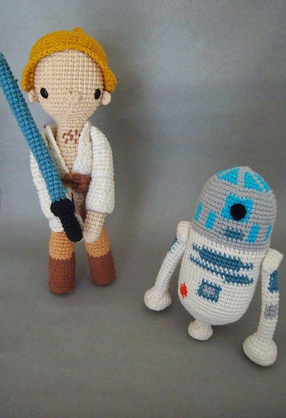 Star Wars Mini Amigurumi Patterns | Star wars crochet, Crochet ... | 831x570