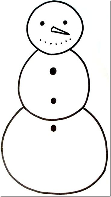 photo about Snowman Template Printable named no cost snowman (and female) printables Specifically Paint It