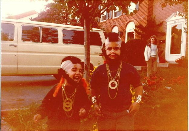 Mr. T and Mr. T | Community Post: 32 Parents Who Nailed It On Halloween