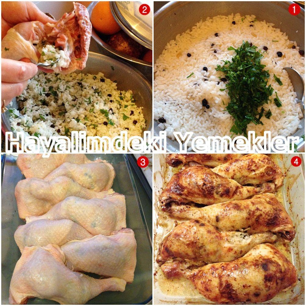 Fırında Tavuk Budu Tarifi