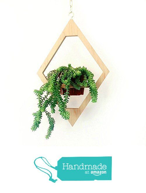 Jungalow Hanging Planter from M.F.E.O. http://www.amazon.com/dp/B015MB5T5M/ref=hnd_sw_r_pi_dp_uyufwb0JXM8H5 #handmadeatamazon