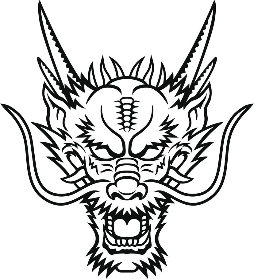 Resultat dimatges de dragon chino dibujo  si  Pinterest