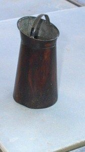 RARE Antique Rock Graner Water Bucket 1850 70 | eBay