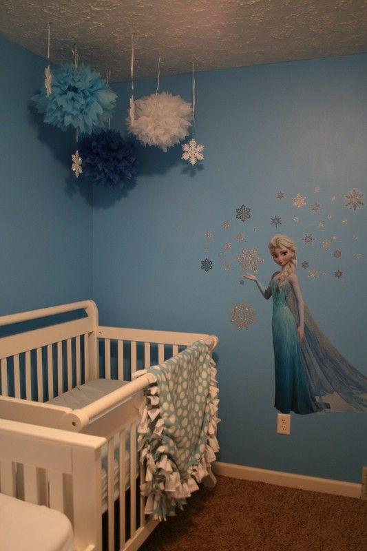 http://www.omahamoms.com Disney Frozen Elsa Bedroom Redecoration ...