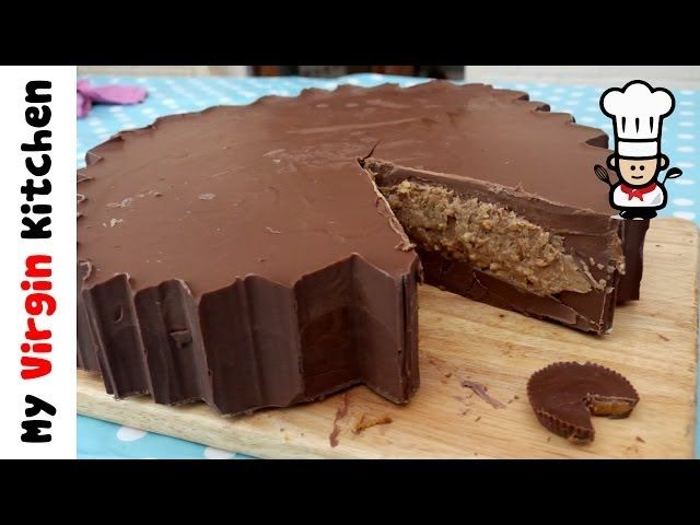 Giant Reeses Peanut Butter Cup | Reeses peanut butter cup recipe, Peanut butter cups, Chocolate ...
