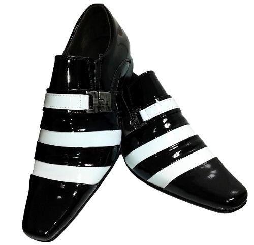 49138e7068 sapato social masculino couro legitimo verniz brilhoso dhl ...
