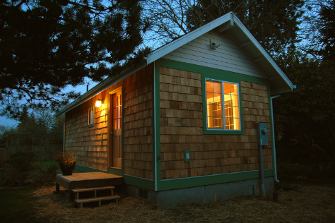 Small Home Oregon can build you a small portable home or sell you