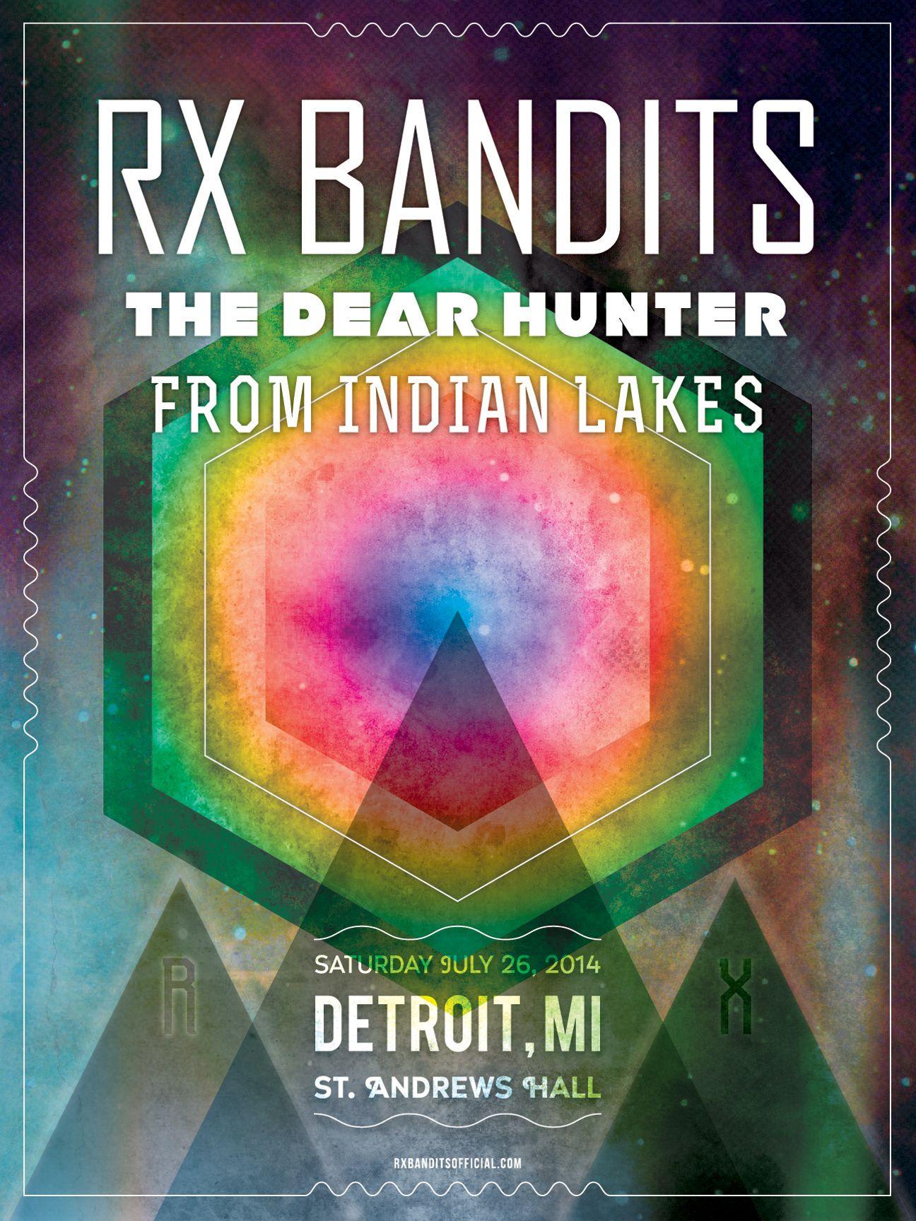 RX Bandits ~ St. Andrews ~ Detroit, MI