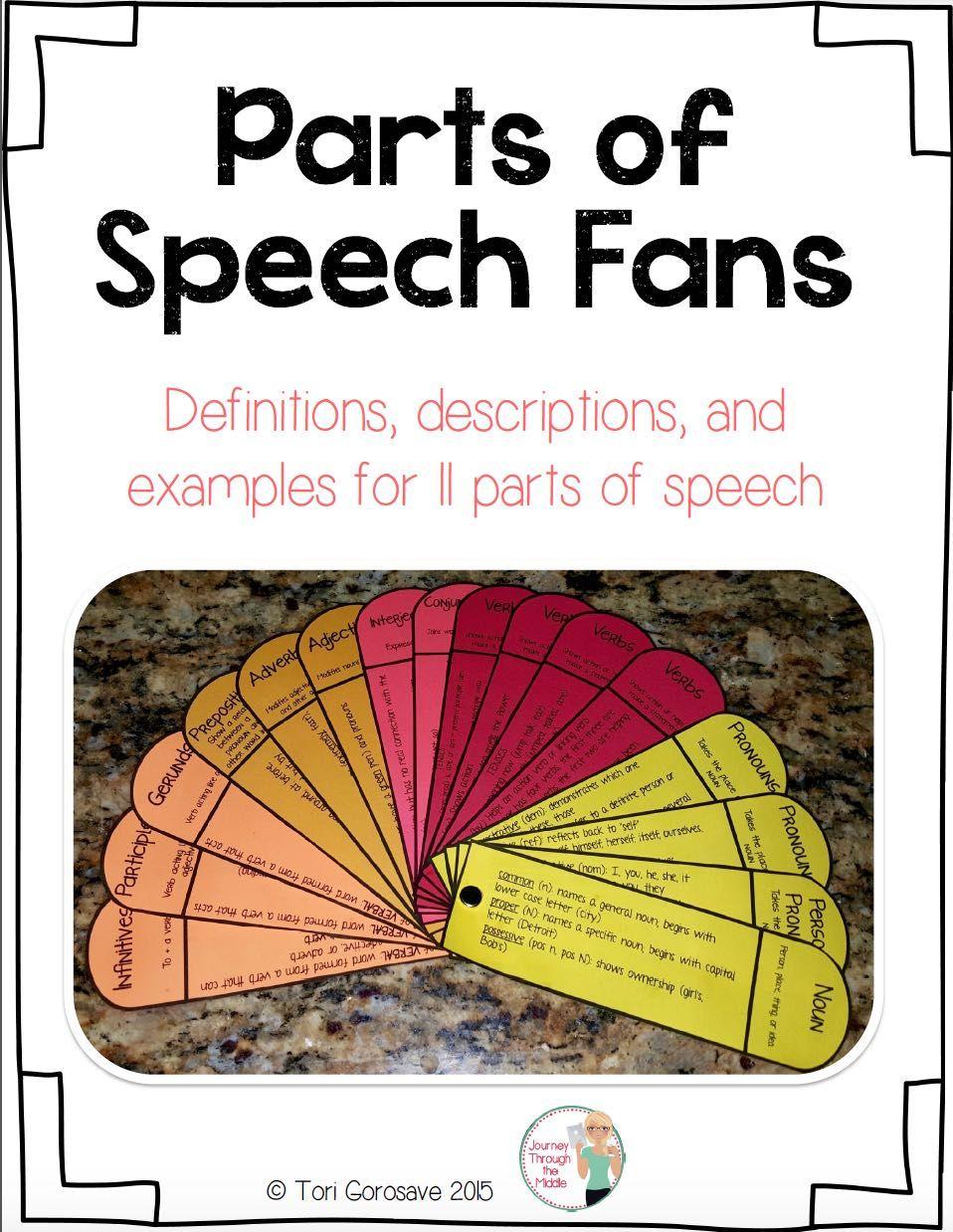 Grammar Concepts: Nouns, Pronouns & Verbs Note Cards ...