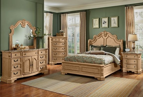 Dramatic Beauty Imagine The Grandeur And Charm Of Yesteryears Villas With Heirloom Furnishings At The Forefr Bedroom Furniture For Sale Furniture Bedroom Set