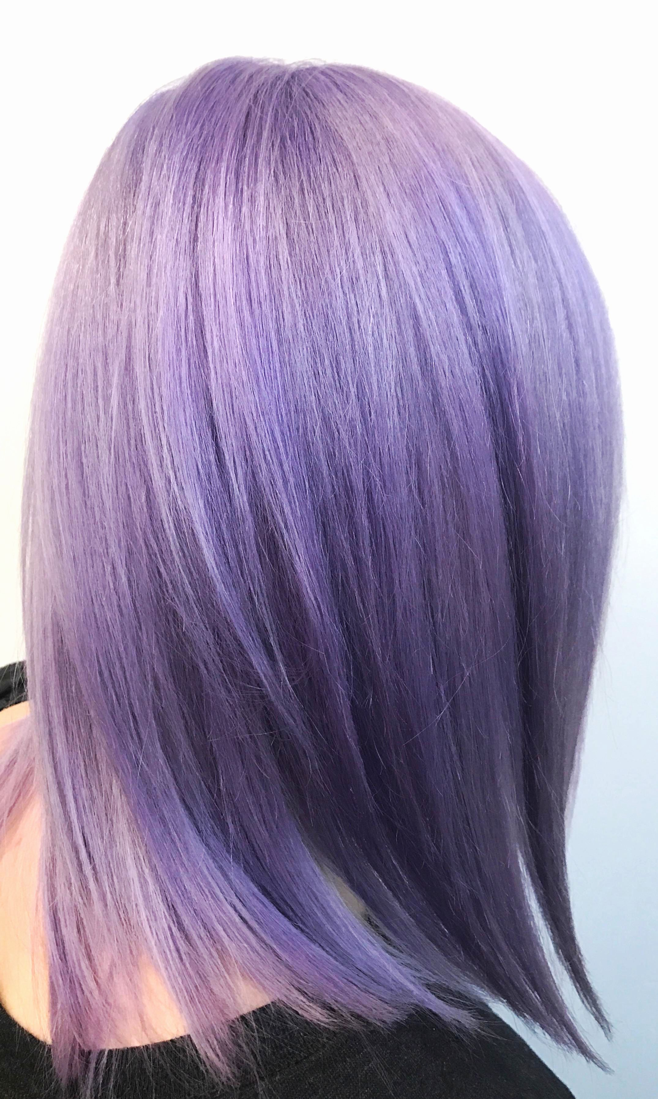 Double Process And Haircut 255 To Get These Vibrant Colors You