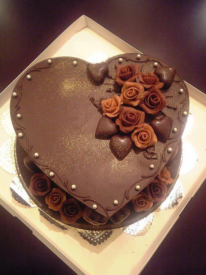 Chocolate Heart Cake Cake Ideas In 2018 Pinterest Cake