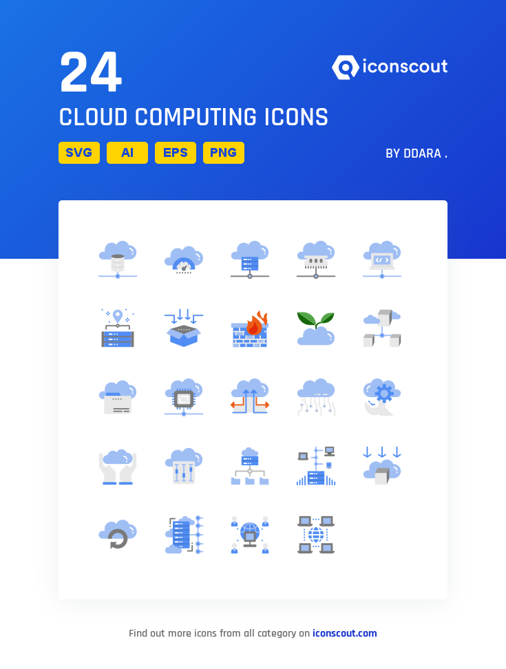 Download Cloud Computing Icon Pack Available In Svg Png Eps Ai Icon Fonts Icon Pack Cloud Computing Icon