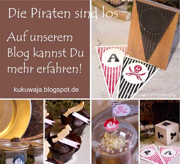 Kukuwaja: Die Piraten Sind Los (Piratenparty) + Giveaway