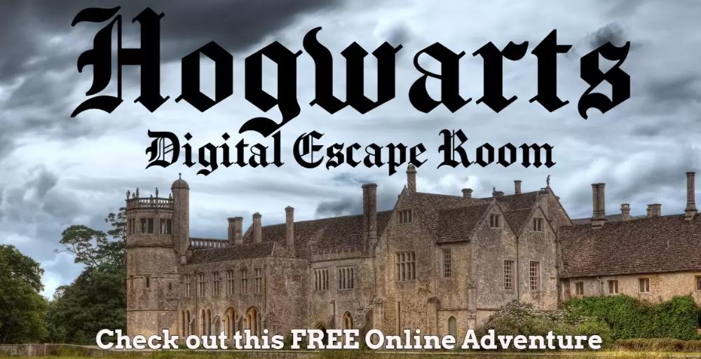 Free Hogwarts Digital Escape Room Escape Room Harry Potter Classroom Escape Room For Kids