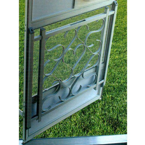 Screen Door Grille By Camco 65 46 Add Good Looks And Protection To Your Rv Screen Door The Screen Door Grille A Hardware Door Hardware Locks Home