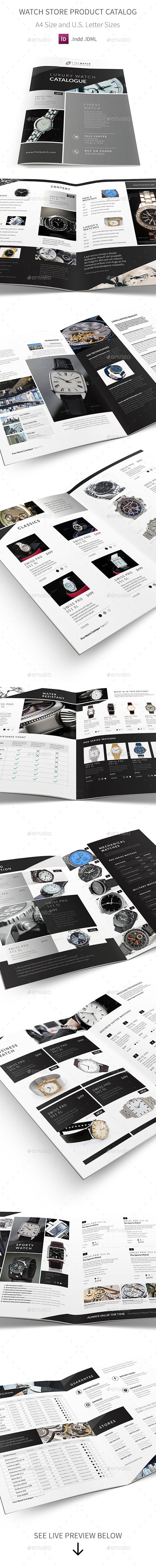 Watch Store Product Catalog