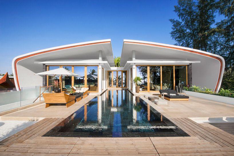iniala beach house offers scenic getaway in thailand - designboom ...