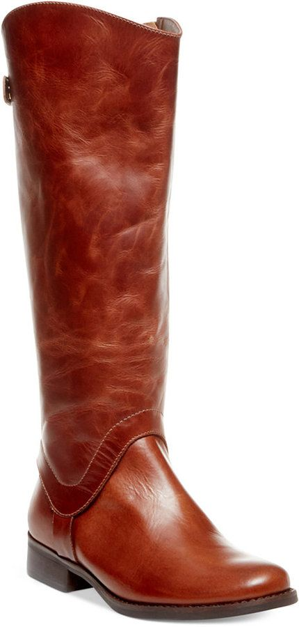 83404572639 STEVEN by Steve Madden Sady Wide Calf Tall Riding Boots at Macy s only.