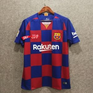 f3196aa4ef7 Barcelona 2019-20 Top Red Soccer Jersey  N164