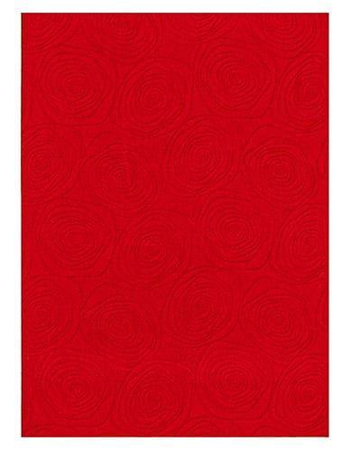 ECARPETGALLERY Bellisima Area Rug - Red - Size 2'2 X 4'