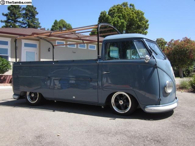 1954 Barndoor Single Cab Classic Volkswagen Vintage Vw Volkswagen Aircooled