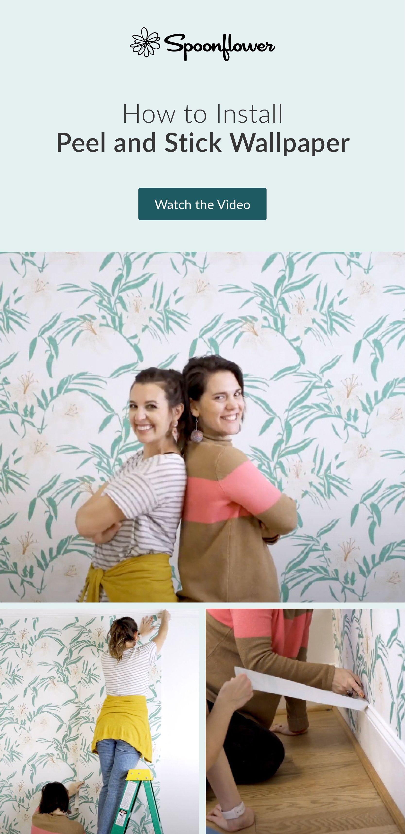 Spoonflower Blog Playroom Wallpaper Peel And Stick Wallpaper Guest Bedroom Decor