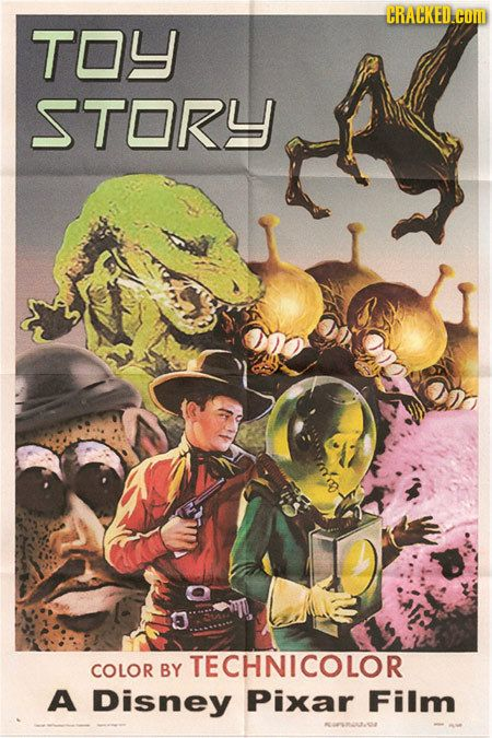 Alt Art Disney - 1960s SciFi Toy Story