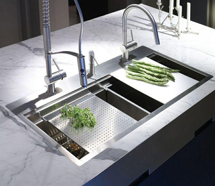 Edelstahl Küchenarmatur \u2013 Wie können Sie Ihre moderne Küche - küchen aus edelstahl