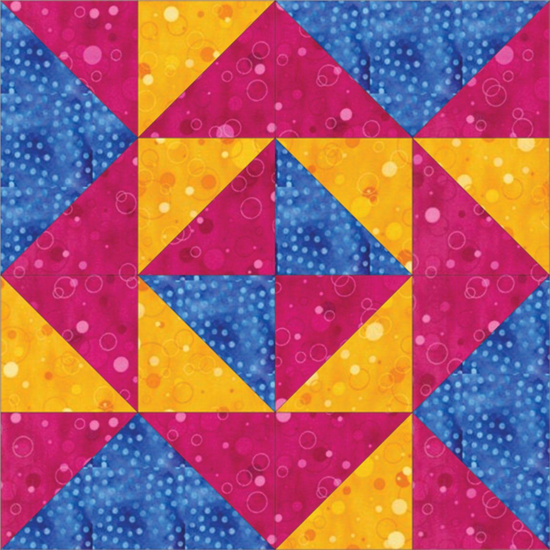 Go Blockade 6 Block Pattern Quilt Block Patterns Quilt Patterns Quilt Block Patterns Free