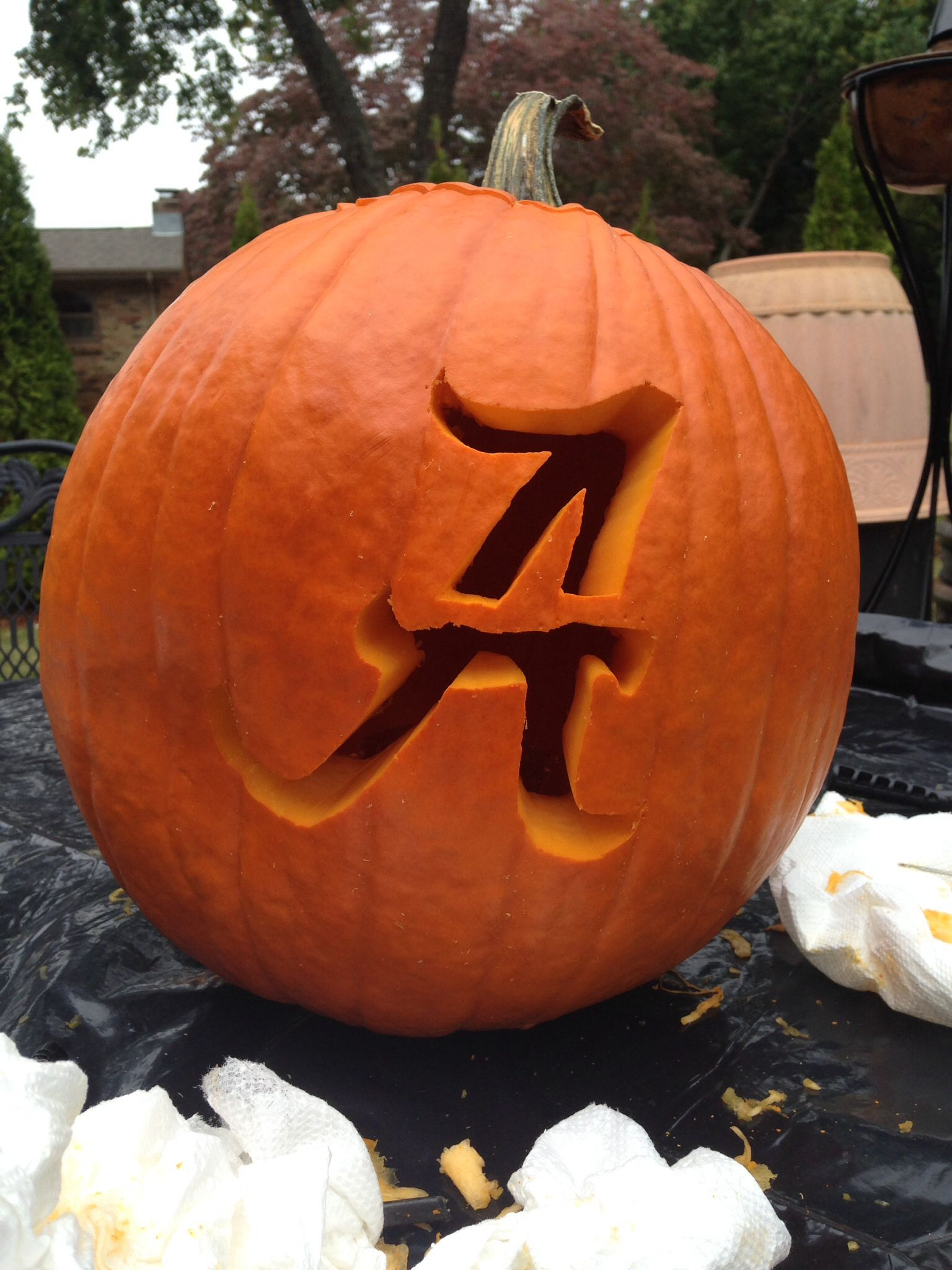 Notre Dame Football Pumpkin Carving Patterns Www Topsimages Com