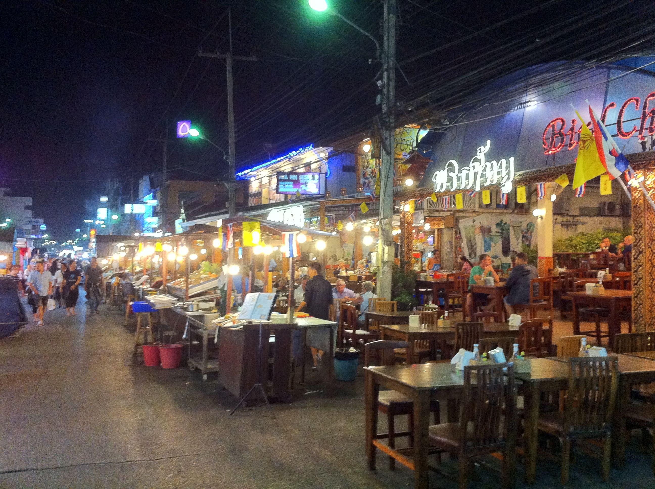 Hua hin thailand night market impressive array of goods